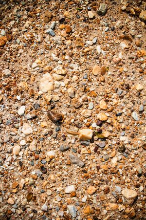 soli: texture of cracked earth in arid location Stock Photo