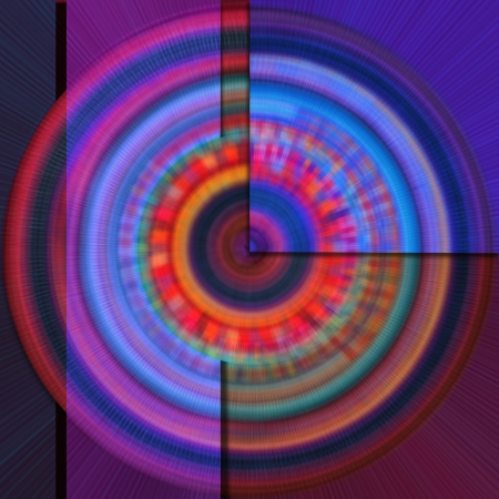 abstract colored background with circles purple blue photo