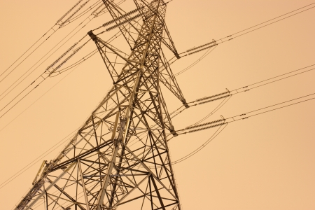 View of an electricity pylon Imagens - 24633387