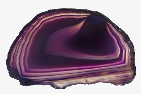 agate purple of Brazil insolated photo