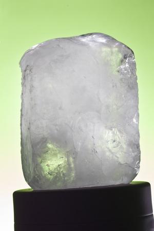 ecologic: one ecologic deodorant crystal in black-ground green