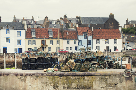 Scenic sight in Pittenweem, in Fife, on the east coast of Scotland. Reklamní fotografie