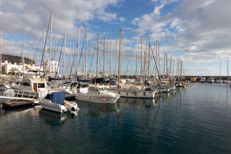 sports pier in Gran Canaria
