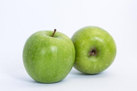 manzana agua: Manzanas verdes
