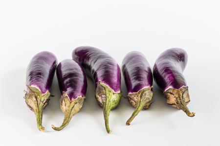 aubergine: eggplant or aubergine vegetable