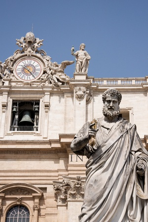 Statue of Saint Peter in Vatican