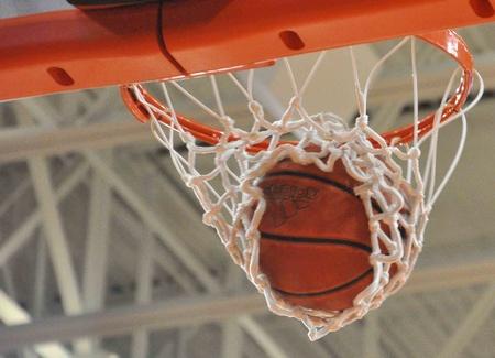 swish: Basketball in net