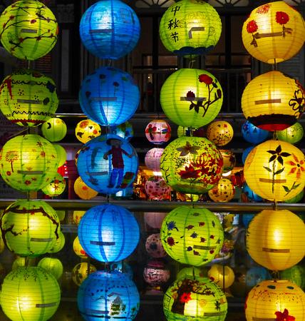 paper lantern: Chinese paper lantern lights
