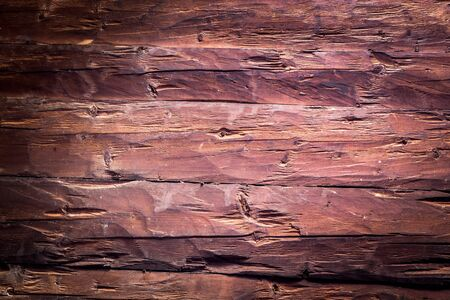 Closeup picture of old rustic wooden planks