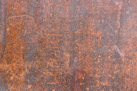 Rusty grunge iron metal background texture. Copy space. Archivio Fotografico