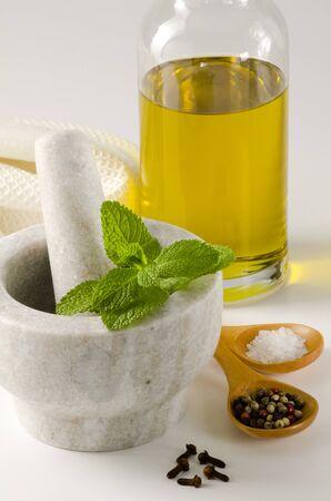 hortel� pimenta: Ervas e especiarias composi