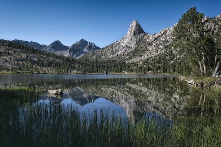 high sierra: Landscape in the Sierra Nevada mountains