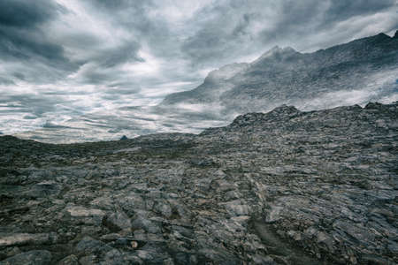 john muir wilderness: Landscape in the Sierra Nevada mountains