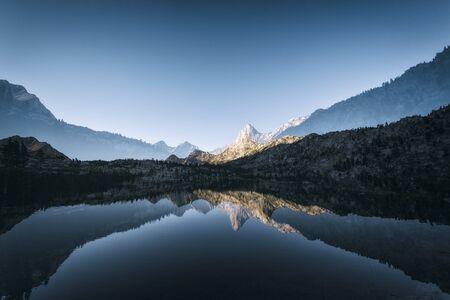 john muir trail: Landscape in the Sierra Nevada mountains