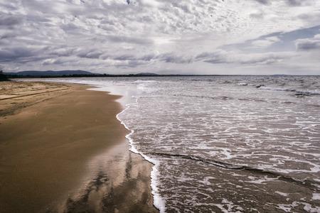 the east coast: Beach at the East Coast of Queensland, Australia