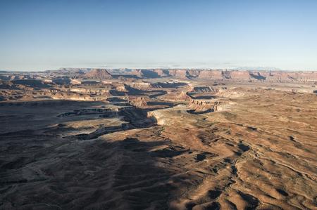 canyonlands national park: Landscape in Canyonlands National Park, Utah, USA