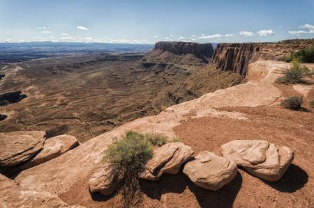 canyonlands: Landscape in Canyonlands National Park, Utah, USA