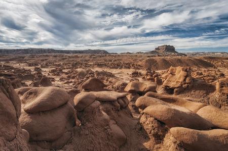 goblin: Landscape in Goblin Valley State Park , Utah, USA