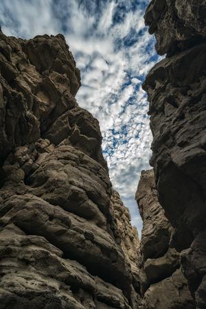 slot canyon: Slot Canyon in Anza-Borrego State Park, California