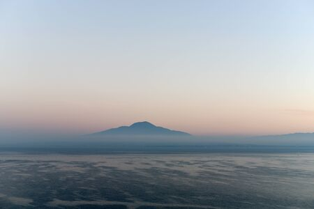 the gulf: Gulf of Naples and Mount Vesuvius