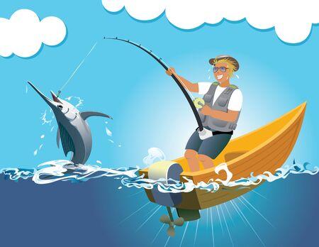 swordfish: Swordfish gaming Illustration