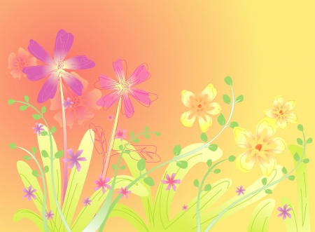 Spring Flower background Stock Vector - 15220128