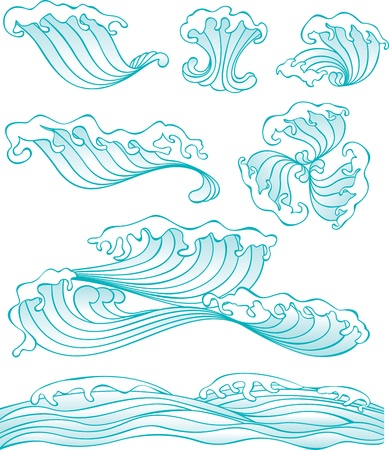 Wave Pattern Stock Vector - 15756156