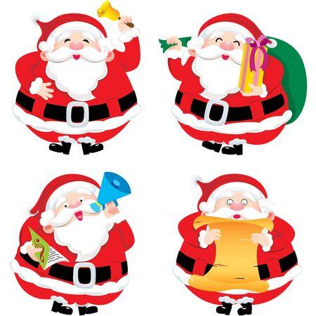 hymnal: Santa Claus Illustration