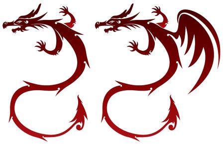 Fairy Dragon illustration Vector