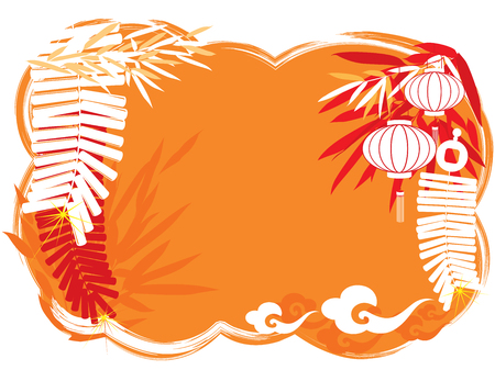 chinese frame: Chinese Festival abstract background, copy space  center area  for the designers to fill what they like