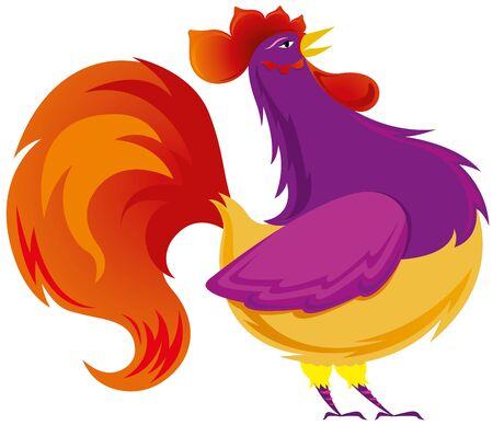 03: Mr rooster illustration 03