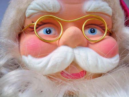 moods: Santa Claus in all kind of moods,suprised