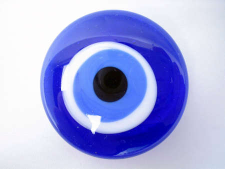 Fatima's eye bringer of good luck or so believed by Islamic people Stock Photo - 2421201