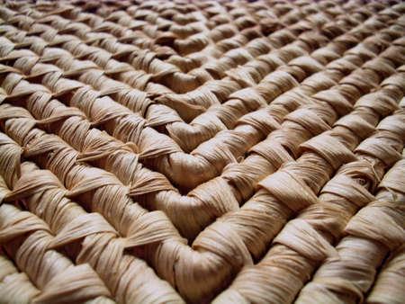 interlink: straw placemat