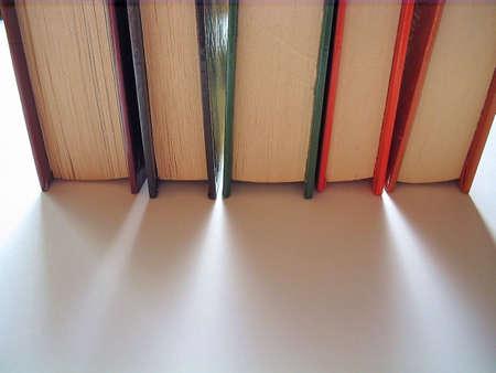 books on white background Reklamní fotografie