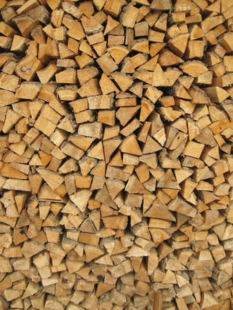 log on: A pile of firewood