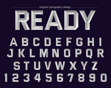 Gray Bold Typography design