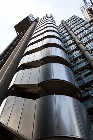 lloyds london: Lloyds building in London