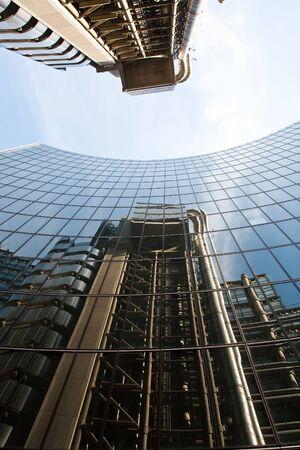 lloyd's: Lloyds building in London