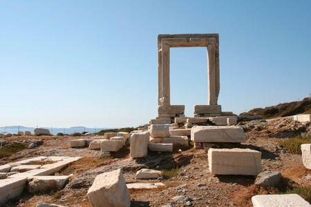 naxos: Naxos arch