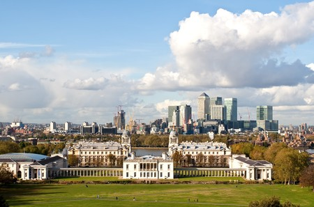 wharf: Greenwich and Canary Wharf