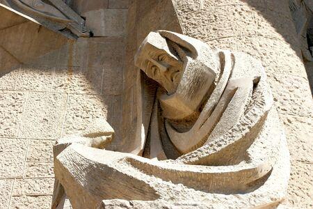 Sculpture on Sagrada Familia