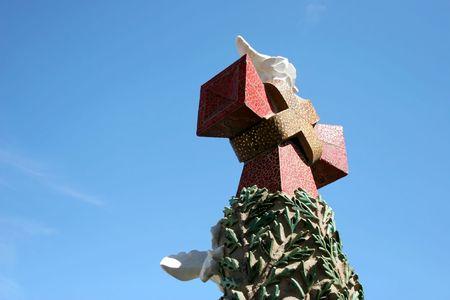 reconstruct: Sagrada Familia detail