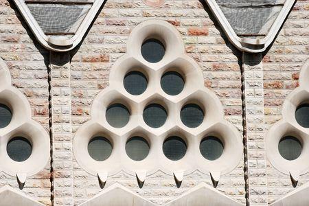 reconstruct: Wall of Sagrada Familia church in detail