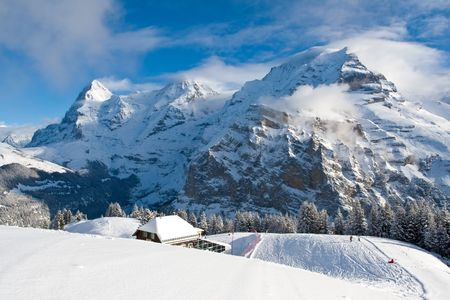 eiger: Eiger, Monch, and Jungfrau in Switzerland