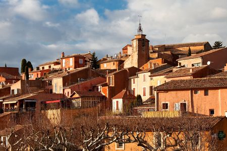 roussillon: Roussillon is one the most beautiful villages in southern France