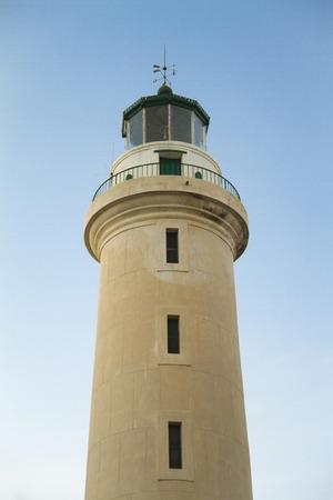 The City Landmark of Alexandroupoli, Greece. The lighthouse.