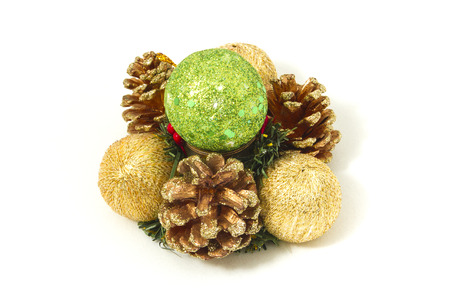 newyear: Ornaments for christmas and newyear celebrations. Stock Photo