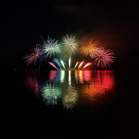 Fireworks - Ignis Brunensis in Czech republic in Brno photo