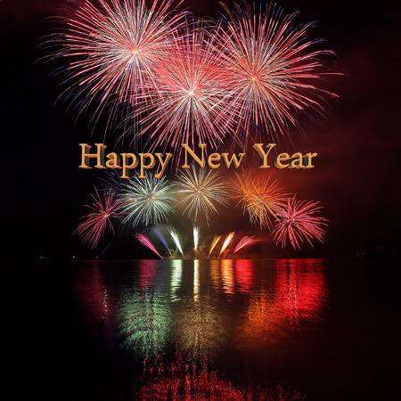 Happy New Year - Fireworks photo